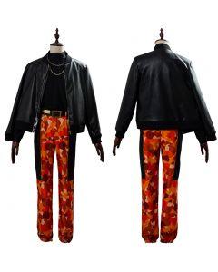 DRB Division Rap Battle Busujima Mason Riou Cosplay Costume