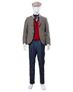 2018 Mary Poppins Returns 2 Lin-Manuel Miranda Jack Cosplay Costume
