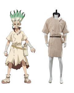 2019 Dr. Stone Senku Ishigami Cosplay Costume