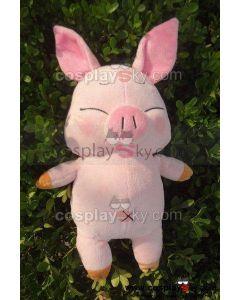 Accel World Haruyuki Arita Pink Pig Toy Doll