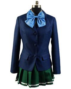 Accel World Kuroyukihimei School Uniform Cosplay Costume