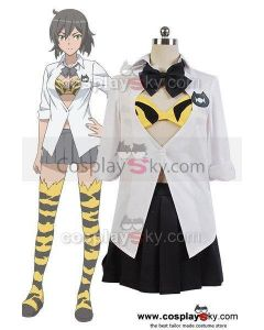 Ai Tenchi Muyo! Science Club Beni Kinoj  Uniform Outfit Cosplay Costume