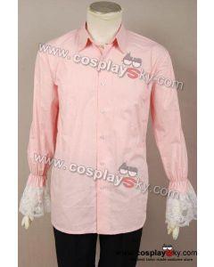 Alice In Wonderland Johnny Depp Mad Hatter pink shirt Costume