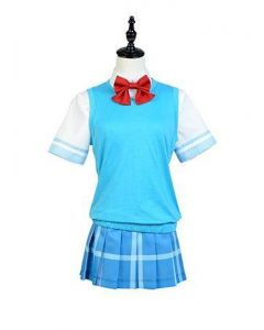And You Thought There Is Never A Girl Online  Ako Tamaki School Uniform Cosplay Costume