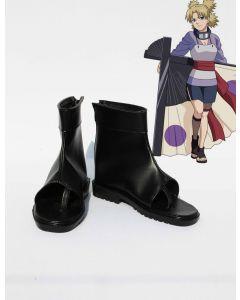Anime Naruto Nara Temari cosplay shoes boots