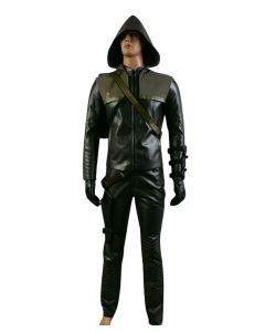 Arrow Oliver Queen Green Arrow Man Cosplay Costume