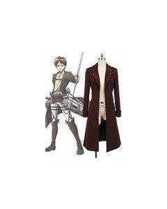Attack on Titan Eren Jaeger New Coat Costume