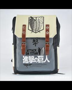 Attack On Titan Shingeki no Kyojin Blue Backpack Schoolbag Shoulder Bag Cosplay Accessories
