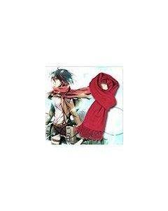 Attack on Titan Shingeki no Kyojin Mikasa Scarf