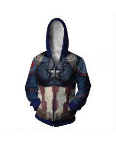 Avengers 4£ºEnd Game Quantum Realm Captain America Hoodie