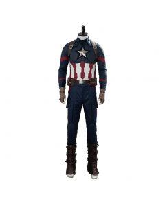 Avengers 4: Endgame Steve Rogers Captain America Cosplay Costume