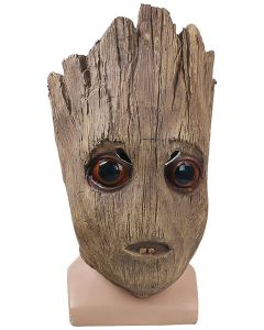 Avengers Infinity War Groot Latex Cosplay Mask Imitated Wooden Mask