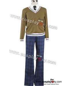 Axis Powers Hetalia Winter Male Cosplay Uniform Costume