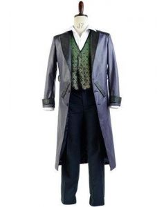 Batman Arkham Origins Blackgate Joker Outfit Cosplay Costume