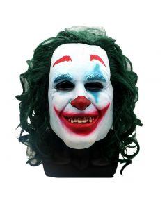 Batman Green Hair Mask Cosplay Clown Full Face Halloween Props