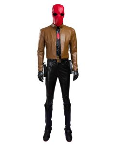 Batman Red Hood Jason Peter Todd Outfit Cosplay Costume