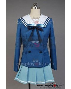 Beyond the Boundary Mirai Kuriyama Cosplay Costume(not includes Cardigan)