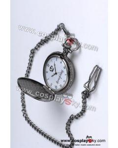 Black Butler Sebastian Michaelis Pocket Watch cosplay