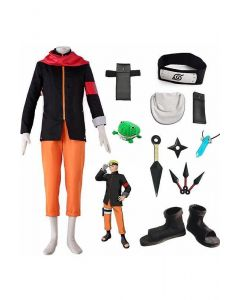BORUTO - NARUTO THE MOVIE Uzumaki Naruto Cosplay Costume