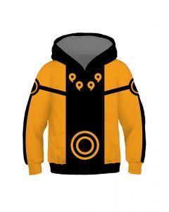 Boys Hoodie Naruto Ninja 3D Pullover Sweatshirt For Kids