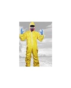 Breaking Bad Hazmat Lab Walter White Jumpsuit Costume with Half Mask Gloves