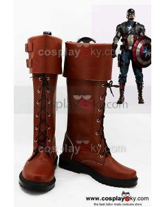 Captain America The Winter Soldier Steve Rogers Cosplay Boots Shoes