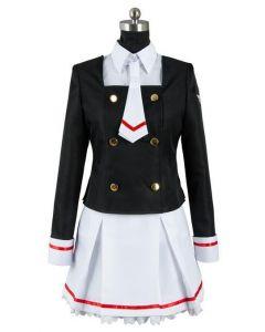 CardCaptor Sakura Sakura Kinomoto School Uniform Cosplay Costume