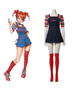 Child¡®s Play Glenn Adult For Female Cosplay Costume