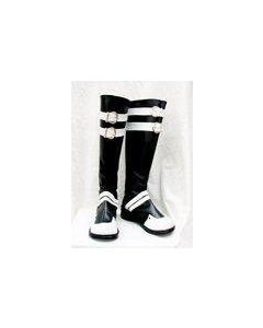 D.Gray-man Classical Cosplay White and Black boots
