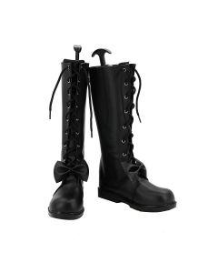Date A Live Kurumi Tokisaki Cosplay Boots Shoes Custom Made