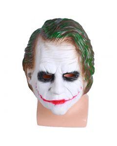 DC Joker Full Face Latex Mask Cosplay Props