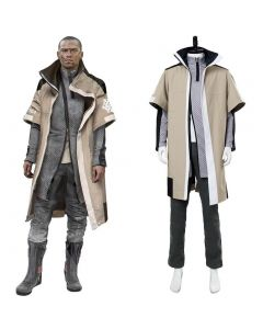 Detroit: Become Human Markus Cosplay Costume Final Chapter Revolution Jericho Leader Outfit