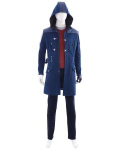 DmC£ºDevil May Cry 5 Nero Outfit Cosplay Costume