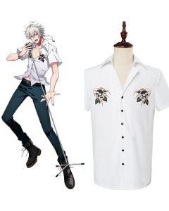 DRB Division Rap Battle SAMATOKI AOHITSUGI Shirt Cosplay Costume