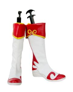 Dynasty Warriors Xiao Qiao / Shou Kyou Cosplay Boots Shoes