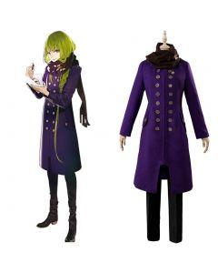 Fate/Grand Order Enkidu Winter Causal Cosplay Costume