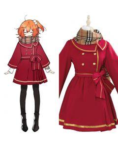 Fate/Grand Order Fujimaru Ritsuka Female New Year Outfit Cosplay Costume