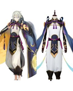Fate/Grand Order Saber Lang Lin Wang Cosplay Costume