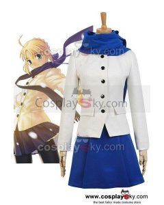 Fate/stay night Saber King Arthur Arturia Daily life Outfit Cosplay Costume