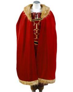 Fate Zero Servant Rider Iskandar Conqueror Outfit Cape Cosplay Costume