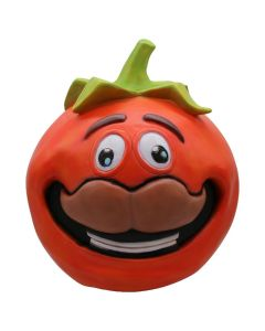 Fortnite Tomato Mask for Adult Halloween Cosplay Mask Costume Latex