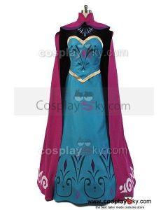 Frozen Elsa Coronation Dress Costume Cosplay