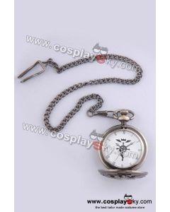 Fullmetal Alchemist Edward Elric's Pocket Watch Cosplay Prop