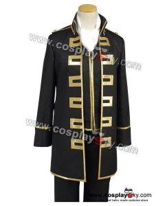 Gintama Shinsengumi Police Gold Soul Cosplay Costume uniform