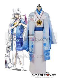 Gugure!Kokkuri-san Kokkuri-san Kimono Outfit  Cosplay Costume