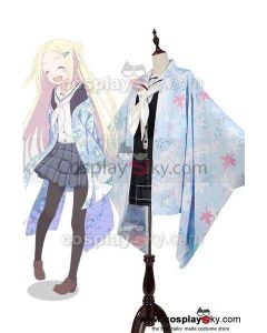 Hanayamata Hana N. Fountainstand Kimono Uniform Outfit Cosplay Costume