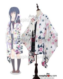 Hanayamata Tami Nishimikado Kimono Uniform Outfit Suit Cosplay Costume