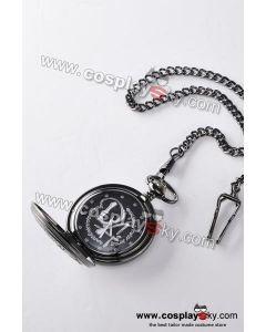 Harry Potter Hogwarts School Emblem Pocket Watch