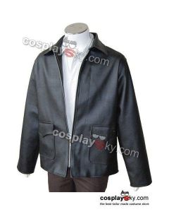 Indiana Jones Harrison Ford Black Jacket Costume