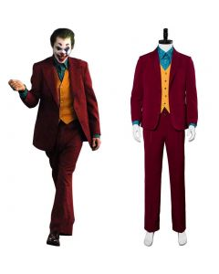 Joker 2019 Joaquin Phoenix Arthur Fleck Cosplay Costume